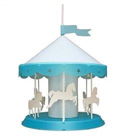 R&M Coudert Lamp Draaimolen - turquoise