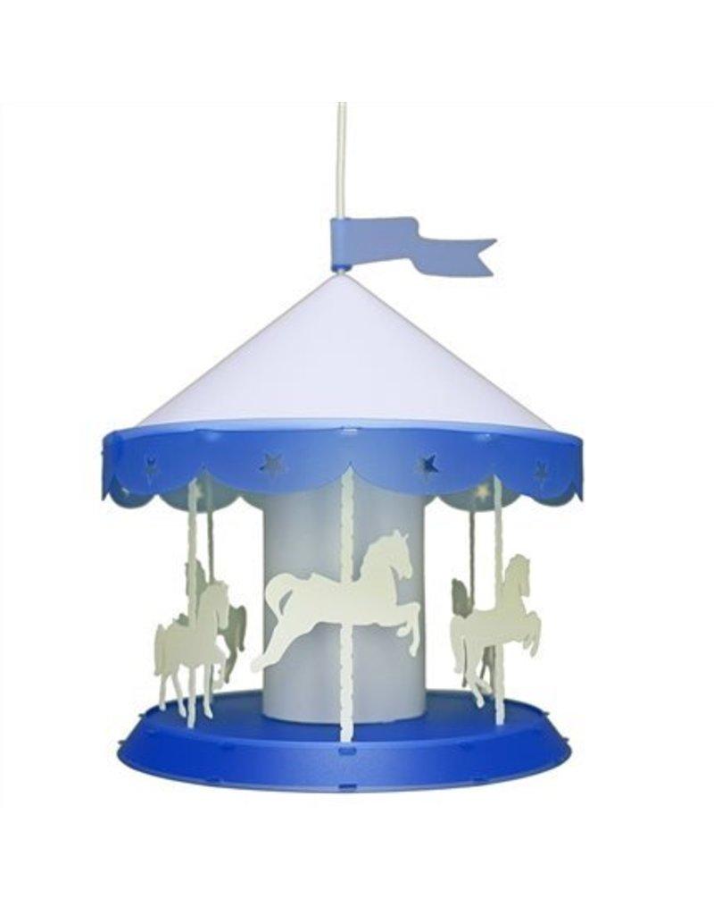 R&M Coudert Blue ceiling light Carousel