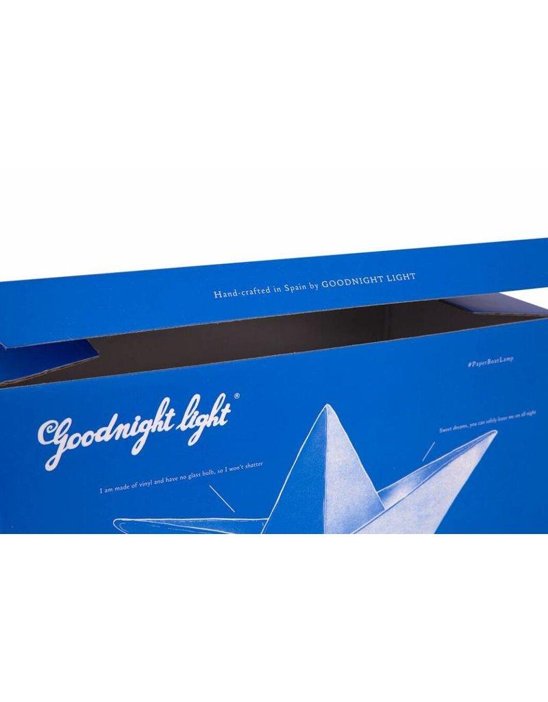 Goodnight Light Paper Boat lamp white