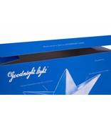Goodnight Light Prachtig nachtlampje in wit met blauw