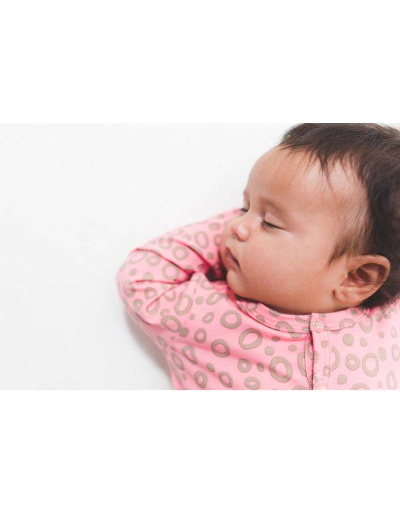nOeser Pyjama bébé 'Raie' en rose corail