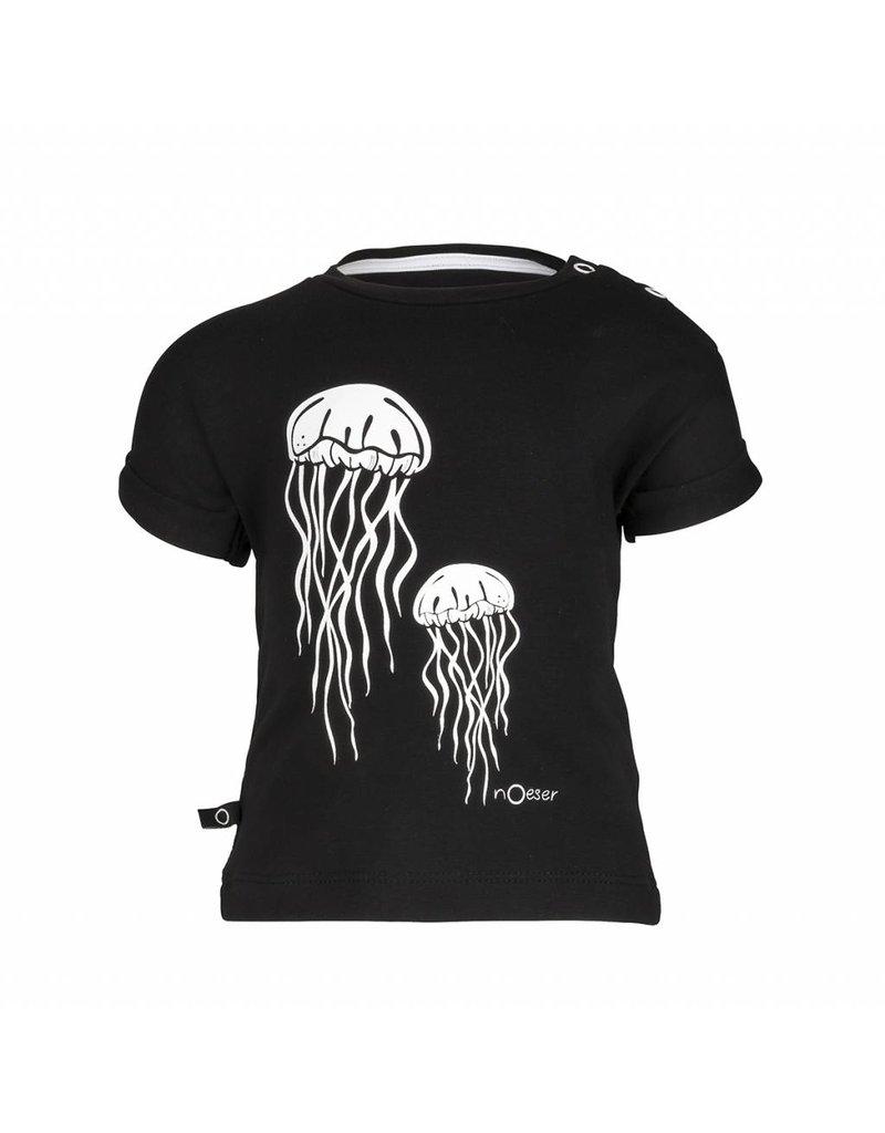 nOeser Baby shirt in black and white