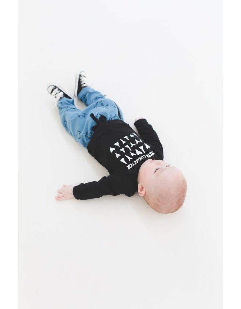 nOeser Shirt bébé en noir et blanc