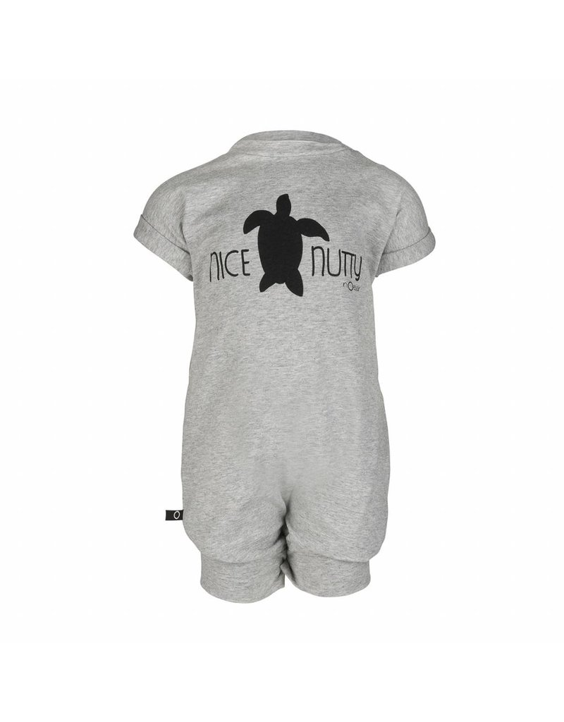 nOeser Babysuit Turtle in grey