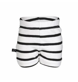 nOeser Short bébé en noir et blanc