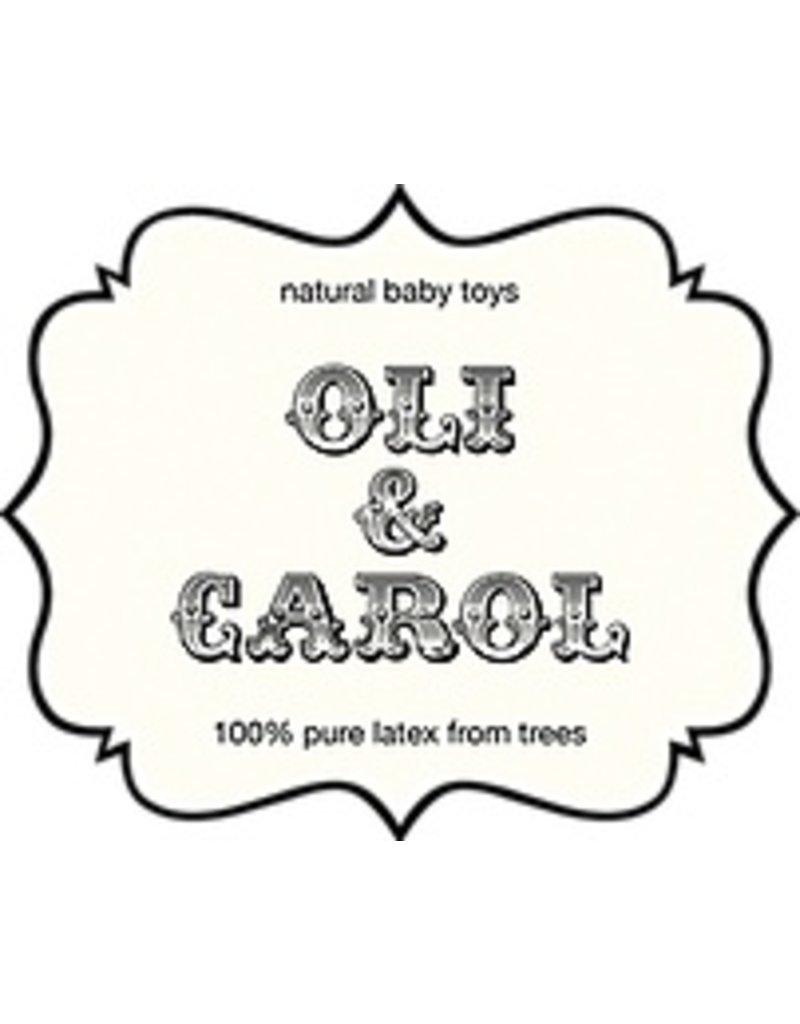 Oli & Carol Bootje van 100% natuurrubber in wit