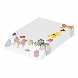 """Bekking & Blitz notitieblok """"Insects & Butterflies"""""""