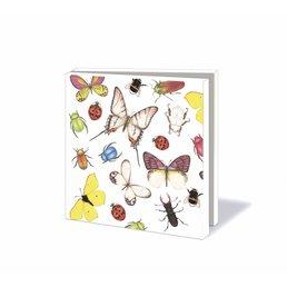 "Bekking & Blitz kaartenmapje ""Insects & Butterflies"""