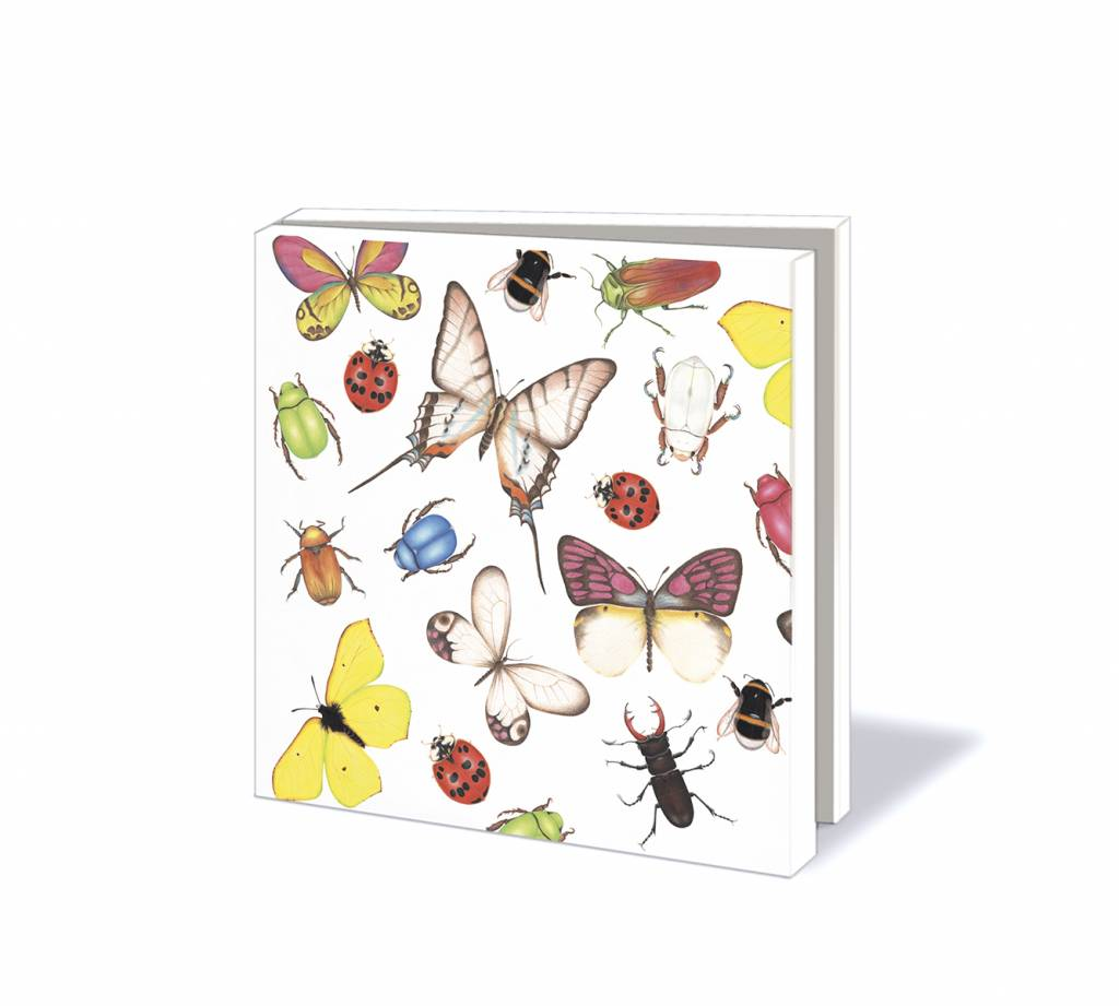 "'Sorcia' by Bekking & Blitz kaartenmapje ""Insects & Butterflies"""