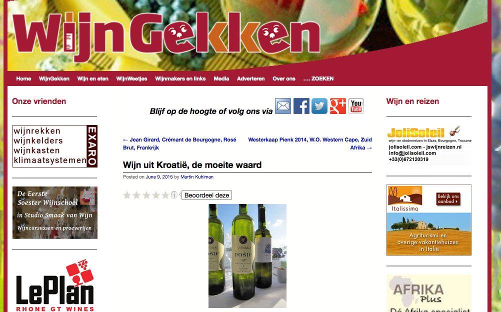 Wijnbeschrijvingen van Wijngekken.nl