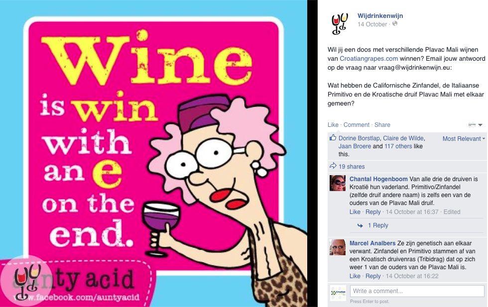 Win & Wijn Wijdrinkenwijn