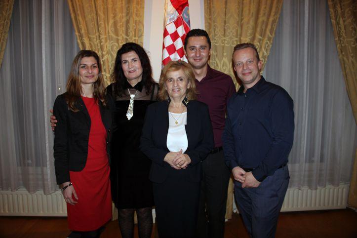 Kerstviering bij Kroatische ambassade