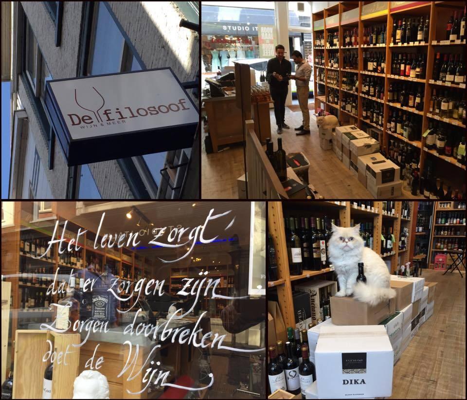 De Filosoof in Den Haag verkoopt Kroatische wijn