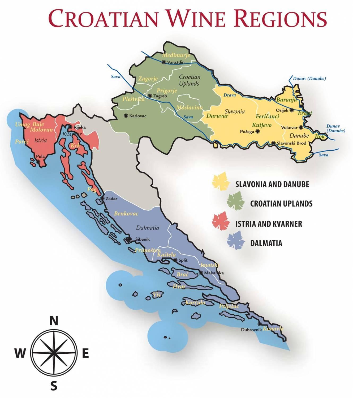 Wijnweetje van de week: Kroatië is een van de meest veelzijdige wijngebieden in de wereld