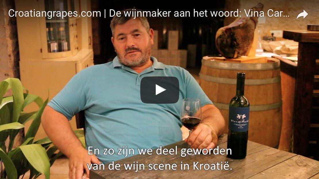 De wijnmaker aan het woord deel 4: Vina Caric