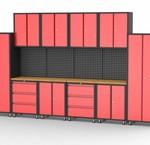 Modular garage cabinets