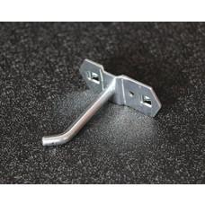 ToolMania Gereedschapshaak schuin, Enkel 10 cm
