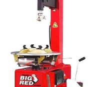 Big Red Tires disassemble machine