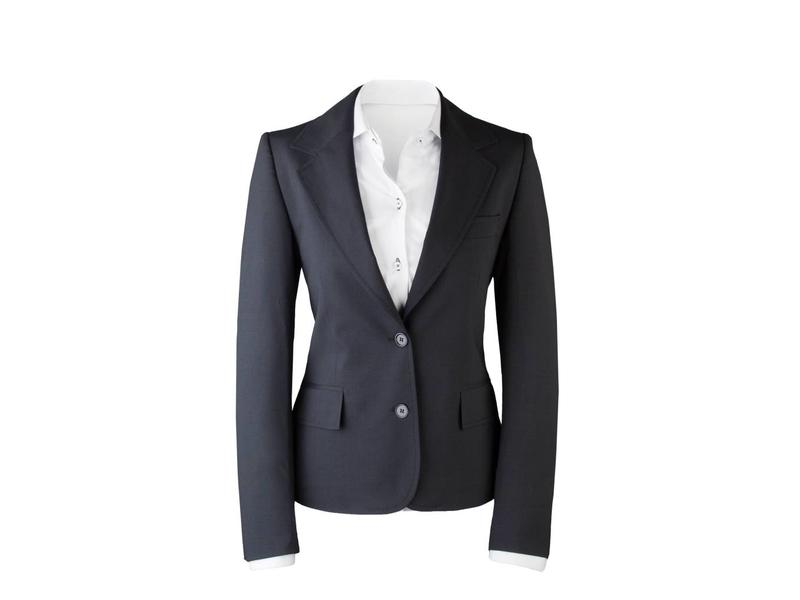 Suit for Work Ladies 2-delig Navy met pantalon