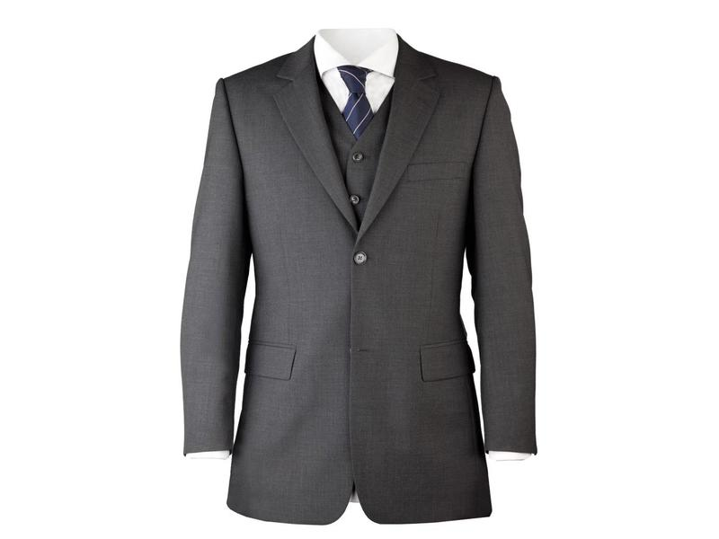 Suit for work 3-delig antraciet