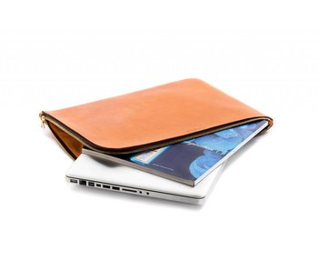 Stuart & Lau Leather Laptop Sleeve & Portfolio Case