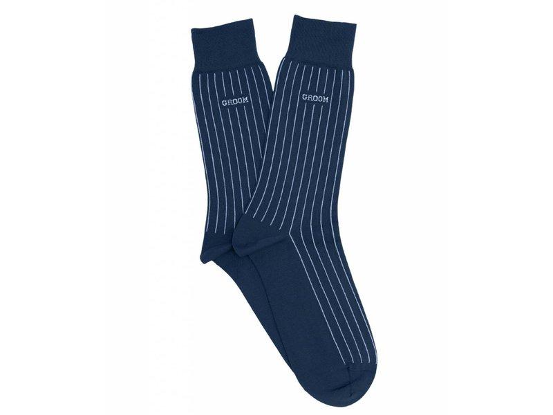Profuomo Groom royal gemerceriseerde sokken