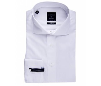 Profuomo Originale White slim fit extra long sleeve