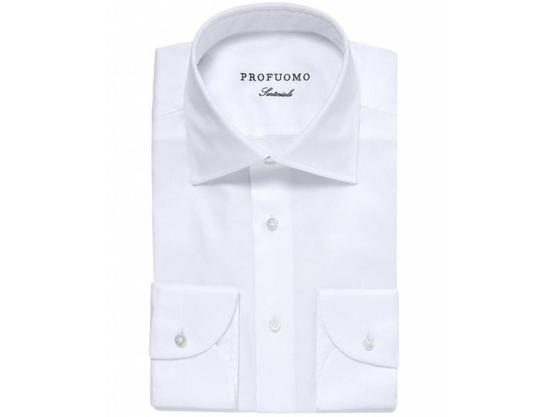 Profuomo Sky blue sartorial white slim fit