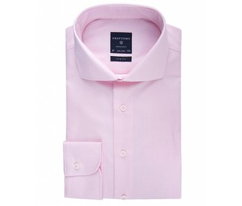 Profuomo Originale pink stripe check