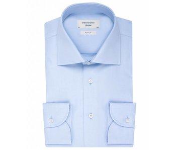 Profuomo Sky blue regular fit blue shirt