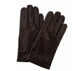 Profuomo Glove Brown nappa leather