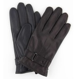 Profuomo Glove Black touchscreen leather