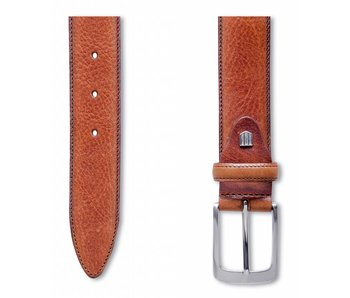 Profuomo Belt Lthr Side Polish Cognac