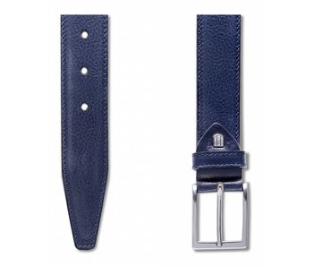 Profuomo Belt Calf Leather Blu