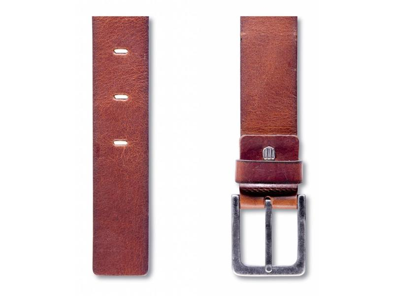 Profuomo Belt Leather Polish Cognac