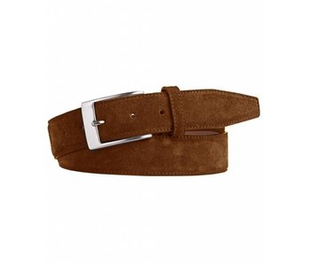 Profuomo Belt Suede Tabacco