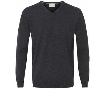 Profuomo Pullover V-Neck Antracite