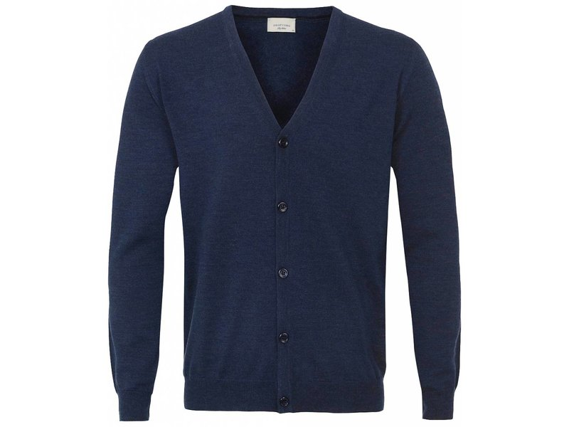 Profuomo Cardigan Button Jeans