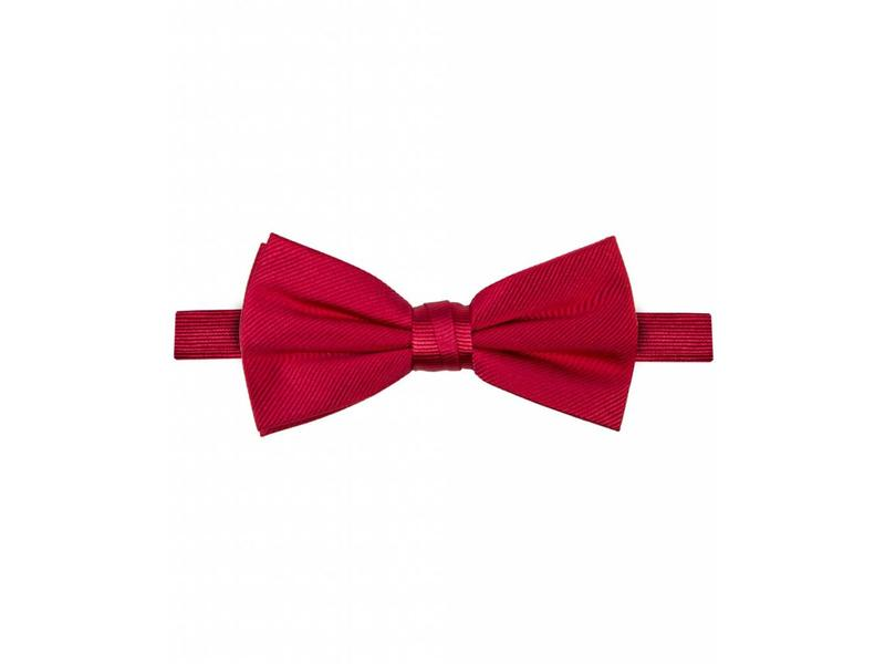 Michaelis Bowtie red solid silk.