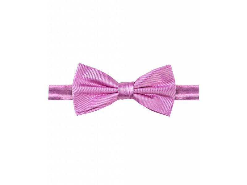 Michaelis Bowtie pink solid silk.
