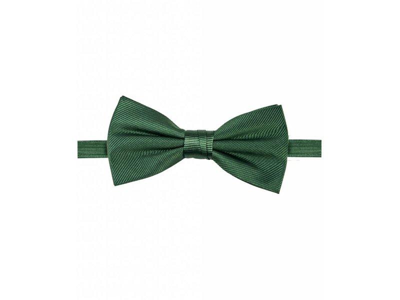 Michaelis Bowtie green solid silk.