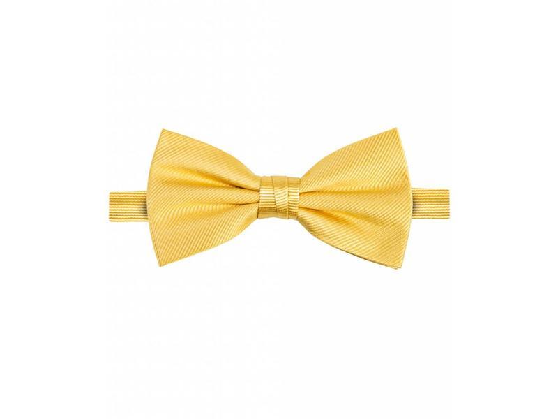 Michaelis Bowtie yellow solid silk.
