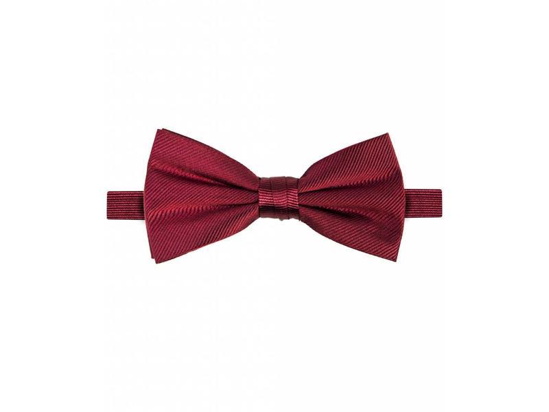 Michaelis Bowtie burgundy solid silk.