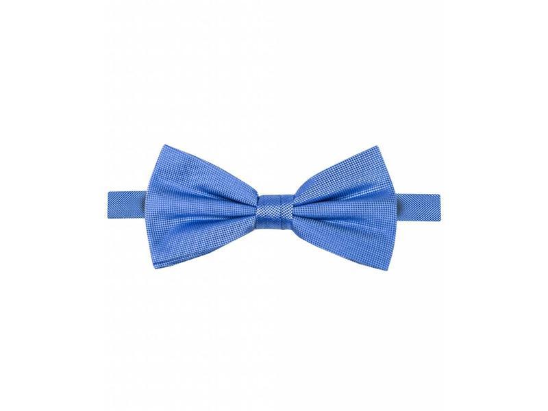 Michaelis Bowtie blue solid silk.
