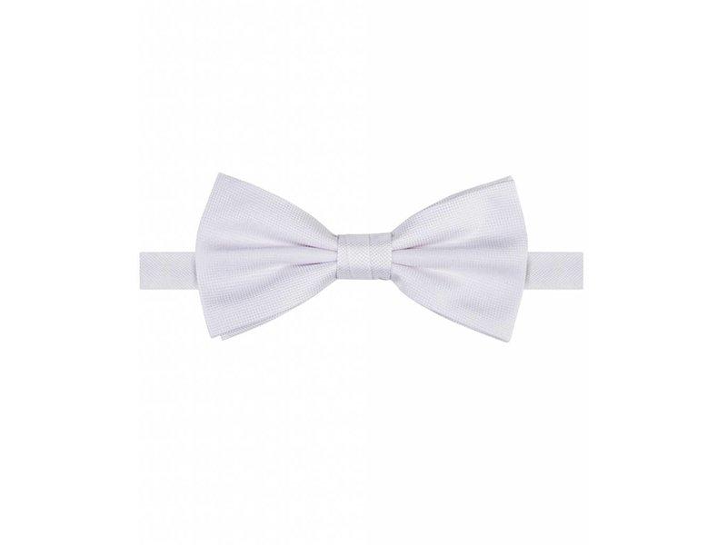 Michaelis Bowtie white solid silk.
