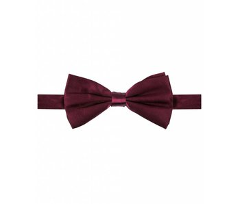 Michaelis Bowtie burgundy satin silk.