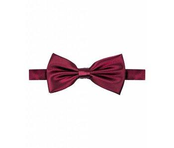 Michaelis Bowtie burgundy satin polyester.