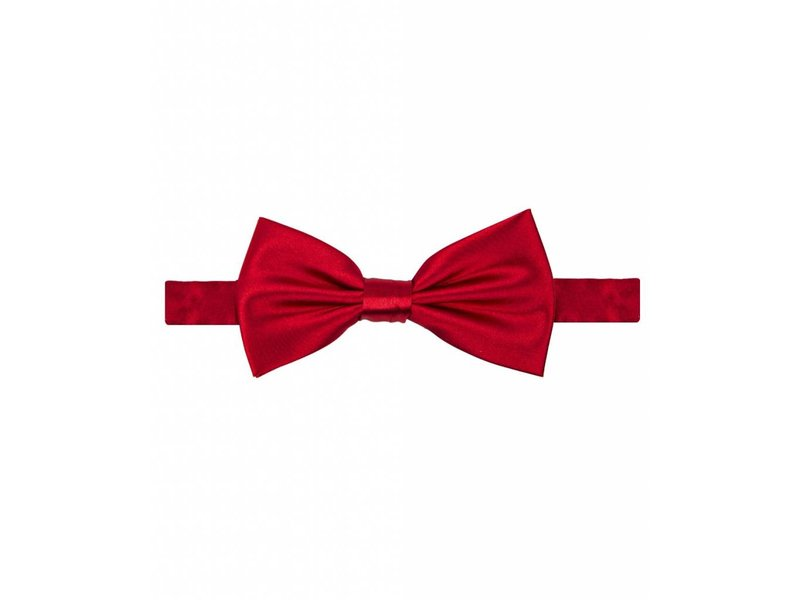 Michaelis Bowtie red satin polyester.