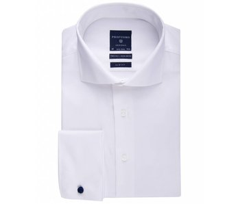 Profuomo Originale two ply non iron slim fit