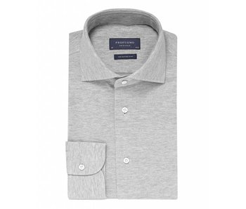 Profuomo Originale knitted Grey slim fit